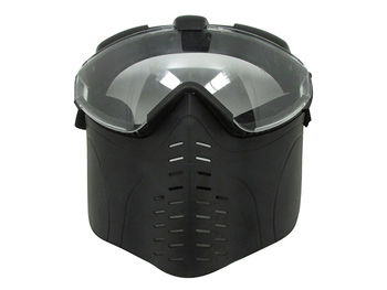 Archery tag mask for people wear galsses